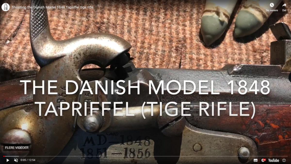 Skarpskydning med Tapriffel M/1848